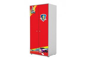 Детский шкаф 2 двери Red - Мебельная фабрика «GRIFON»