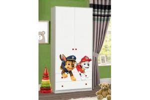 Детский шкаф с фотопечатью Щенячий патруль - Мебельная фабрика «Эльбрус-М»