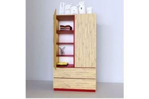 Детский шкаф Соло - Мебельная фабрика «Mamka»