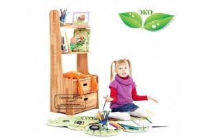 Детский стеллаж Буковка - Мебельная фабрика «Абсолют-мебель»