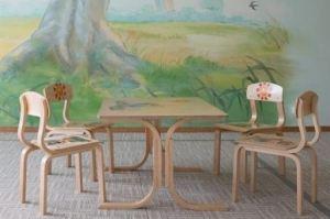 Детский стол со стульями - Мебельная фабрика «ЛамДрев»