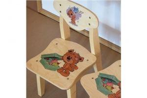 Детский стул массив - Мебельная фабрика «ПримФ»