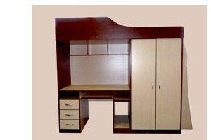 Детский уголок 2-х ярусный - Мебельная фабрика «Мартис Ком»