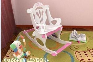 Детское кресло-качалка - Мебельная фабрика «Дубок»