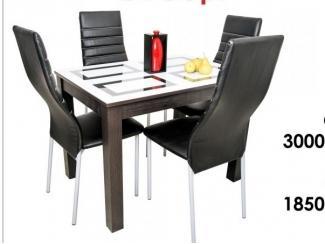 Стол обеденный Ривьера - стул Манако плюс - Мебельная фабрика «Светличных»