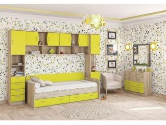 Желтая детская Ника - Мебельная фабрика «Ник (Нижегородмебель)»