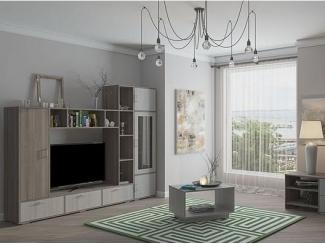 Вместительная горка в гостиную Г-12  - Мебельная фабрика «Ваша мебель»