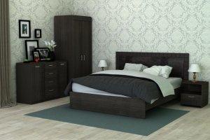 Стильная кровать Бруно  - Мебельная фабрика «Сарма»