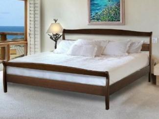 Кровать Селена 4 массив бука - Мебельная фабрика «Диамант-М»