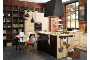 Кухонный гарнитур Лофт  - Мебельная фабрика «Лорена»