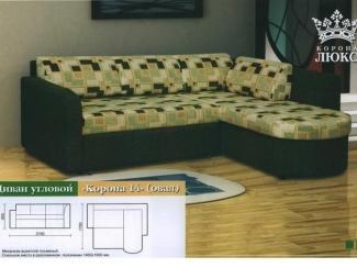 Угловой диван Корона 14 овал