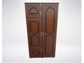 Распашной шкаф с патиной Модель Шк-8019 - Мебельная фабрика «Люси»