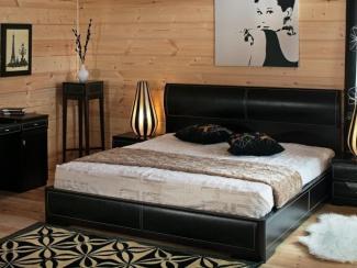 двуспальная кровать венге Etel