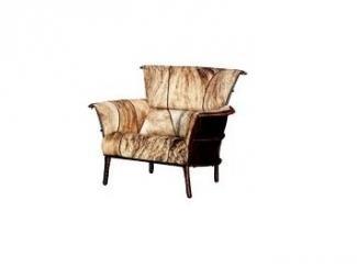 Кресло обитое шкурой буйвола - Импортёр мебели «Arredo Carisma (Австралия)»