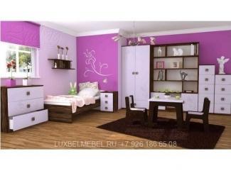 Детская для девочки из массива модель 10151 - Мебельная фабрика «ЛюксБелМебель»