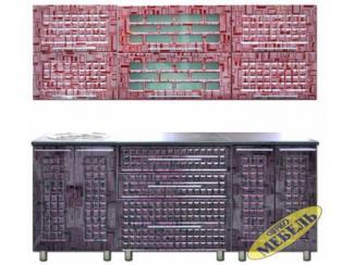 Кухня прямая 53 - Мебельная фабрика «Трио мебель»