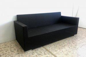 Диван 3-х местный 02 118 - Мебельная фабрика «АртРотанг»