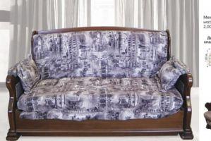 Диван аккордеон бук - Мебельная фабрика «Алина-мебель»