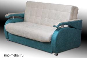 Диван Аккордеон Монтана с накладками - Мебельная фабрика «ИМО-Мебель»