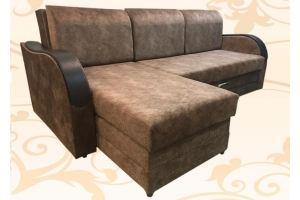 Диван Алекс с оттоманкой - Мебельная фабрика «Магеллан Мебель»