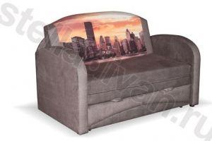 Диван Барби 3 с фотопечатью - Мебельная фабрика «Стелла»