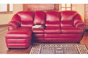 Диван Барон Lux с оттоманкой - Мебельная фабрика «Фан-диван»