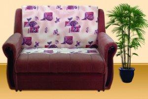Диван Баян подлокотники круглые - Мебельная фабрика «Алина»