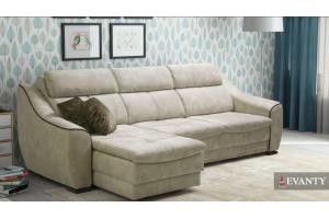 Диван Bruno с оттоманкой - Мебельная фабрика «EVANTY»
