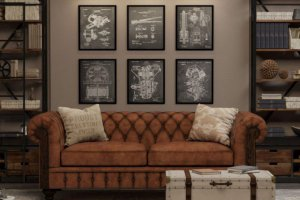 Диван Chesterfield 1 - Мебельная фабрика «Ре-Форма»