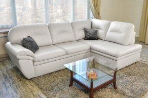 Диван Чиара Lux с оттоманкой - Мебельная фабрика «Формула дивана»