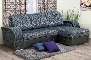 Диван Даллас с оттоманкой - Мебельная фабрика «Уютный Дом»
