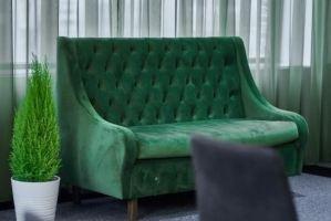 Диван Данни с каретной стяжкой - Мебельная фабрика «Bancchi»