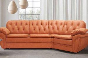 Диван Дэбора с углом 45 градусов - Мебельная фабрика «Элфис»