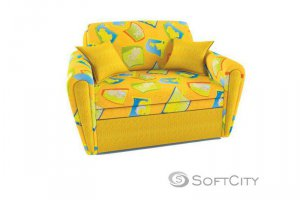 диван детский с мягкими подлокотниками МАРТИНИК 6 - Мебельная фабрика «Софт Сити»