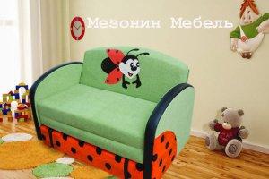 Диван детский Веснушка - Мебельная фабрика «Мезонин мебель», г. Санкт-Петербург