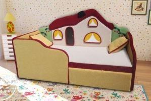Диван для детской Теремок - Мебельная фабрика «М-Стиль»