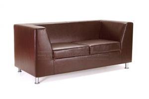 ДИВАН ДУБЛИН KORFU BROWN НА ХРОМИРОВАННЫХ НОЖКАХ - Мебельная фабрика «Мебель-Покупай»