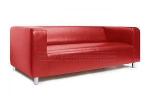 Диван Эдинбург Чили Скарлет на металлических ножках - Мебельная фабрика «Мебель-Покупай»
