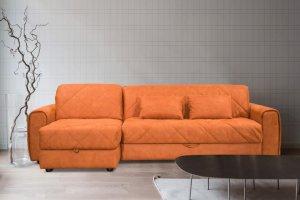 Диван Эдисон 2 с оттоманкой - Мебельная фабрика «Формула дивана»