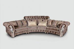 Диван эркерный Амели - Мебельная фабрика «DONKO»