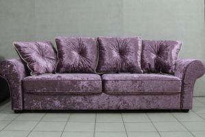 Диван еврокнижка Эдем подушки с кантом - Мебельная фабрика «Люкс Холл»