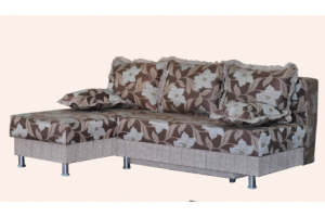 Диван еврокнижка с оттоманкой Теди - Мебельная фабрика «МФ Медведь»