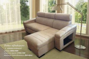 диван Фаворит с оттоманкой - Мебельная фабрика «Вариант-М»