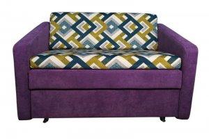 Диван фиолетовый 117 2 - Мебельная фабрика «Мега-Проект»