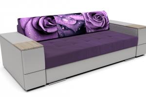 Диван фиолетовый Нэкст - Мебельная фабрика «STOPмебель», г. Кузнецк