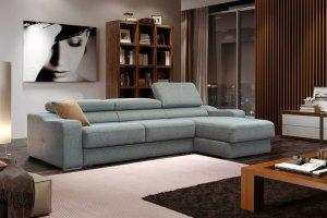 диван FLEX Quadro с оттоманкой - Мебельная фабрика «Sofmann»