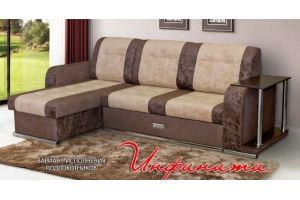 Диван Инфинити с оттоманкой - Мебельная фабрика «Элегантный Стиль»