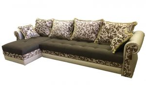 Диван Каприз с оттоманкой - Мебельная фабрика «Версаль»