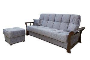 Диван Каприз с пуфом - Мебельная фабрика «Viotorri»