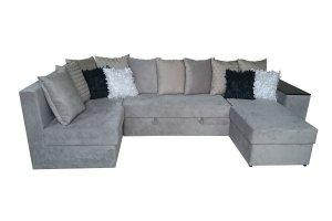 Диван Каскад 1 с оттоманкой - Мебельная фабрика «Линия Стиля»